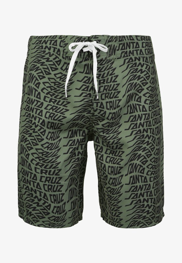 VORTEX - Swimming shorts - olive