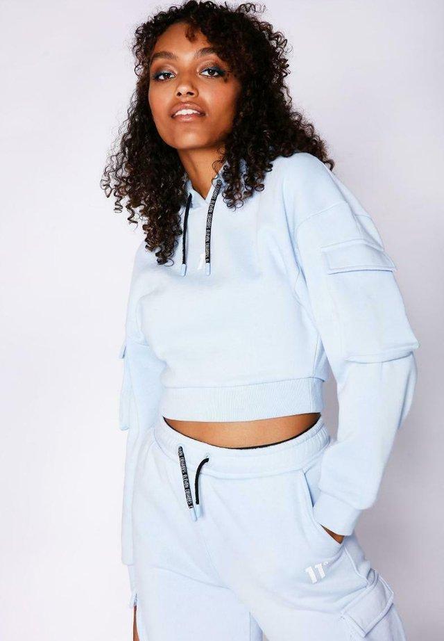Jersey con capucha - powder blue