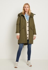 TOM TAILOR - AUTHENTIC WINTER - Parka - olive night green - 2