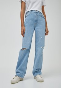 PULL&BEAR - Jeans straight leg - blue-grey - 0