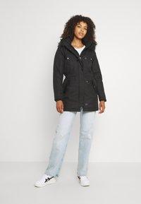 ONLY - ONLIRIS  - Zimní kabát - black - 1