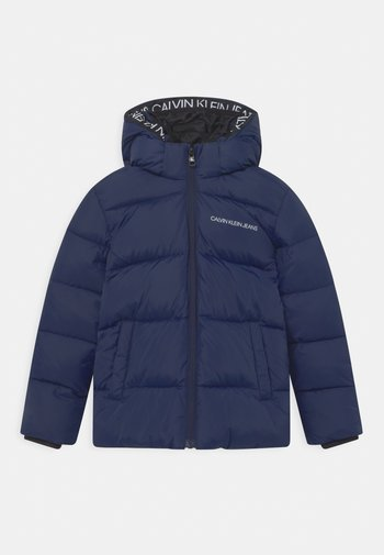 TAPE PUFFER - Winter jacket - peacoat