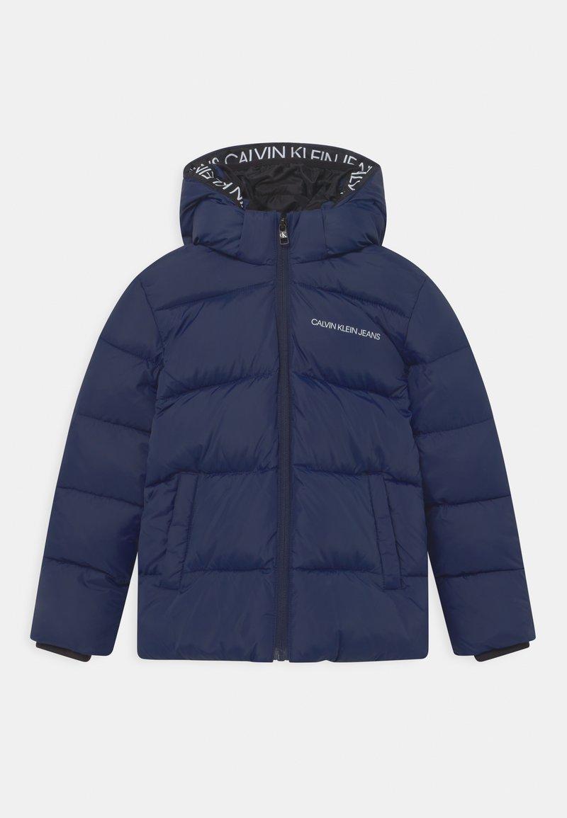 Calvin Klein Jeans - TAPE PUFFER - Winter jacket - peacoat