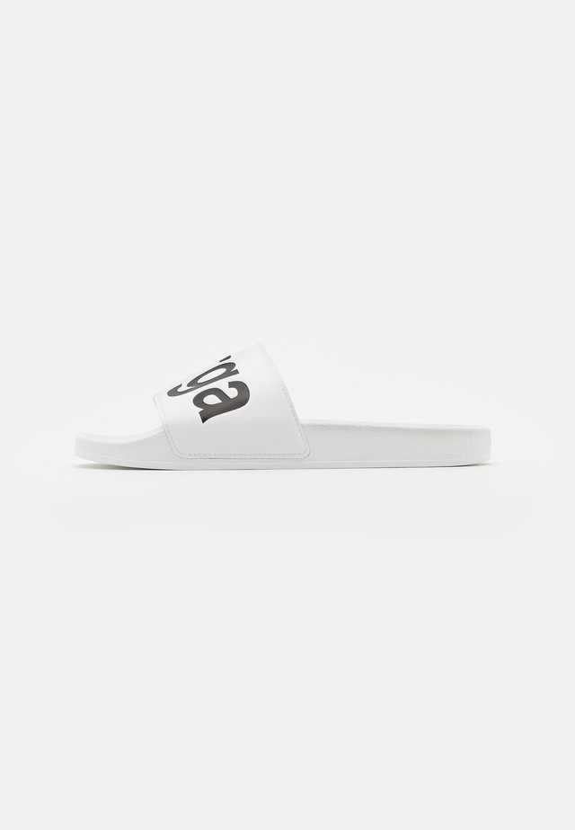 Mules - white/black