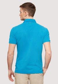 Napapijri - ELBAS - Polo shirt - turquoise - 2