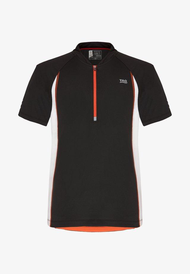 TAO TECHNICAL WEAR - Print T-shirt - black/white