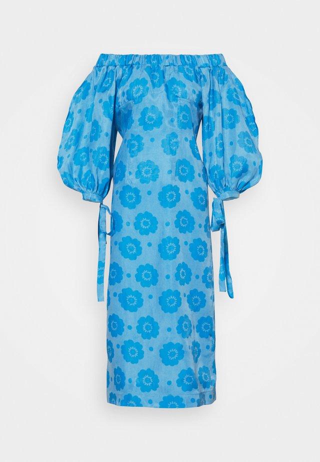 ELLIS DRESS - Korte jurk - blue