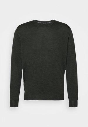 DAVIN - Stickad tröja - green
