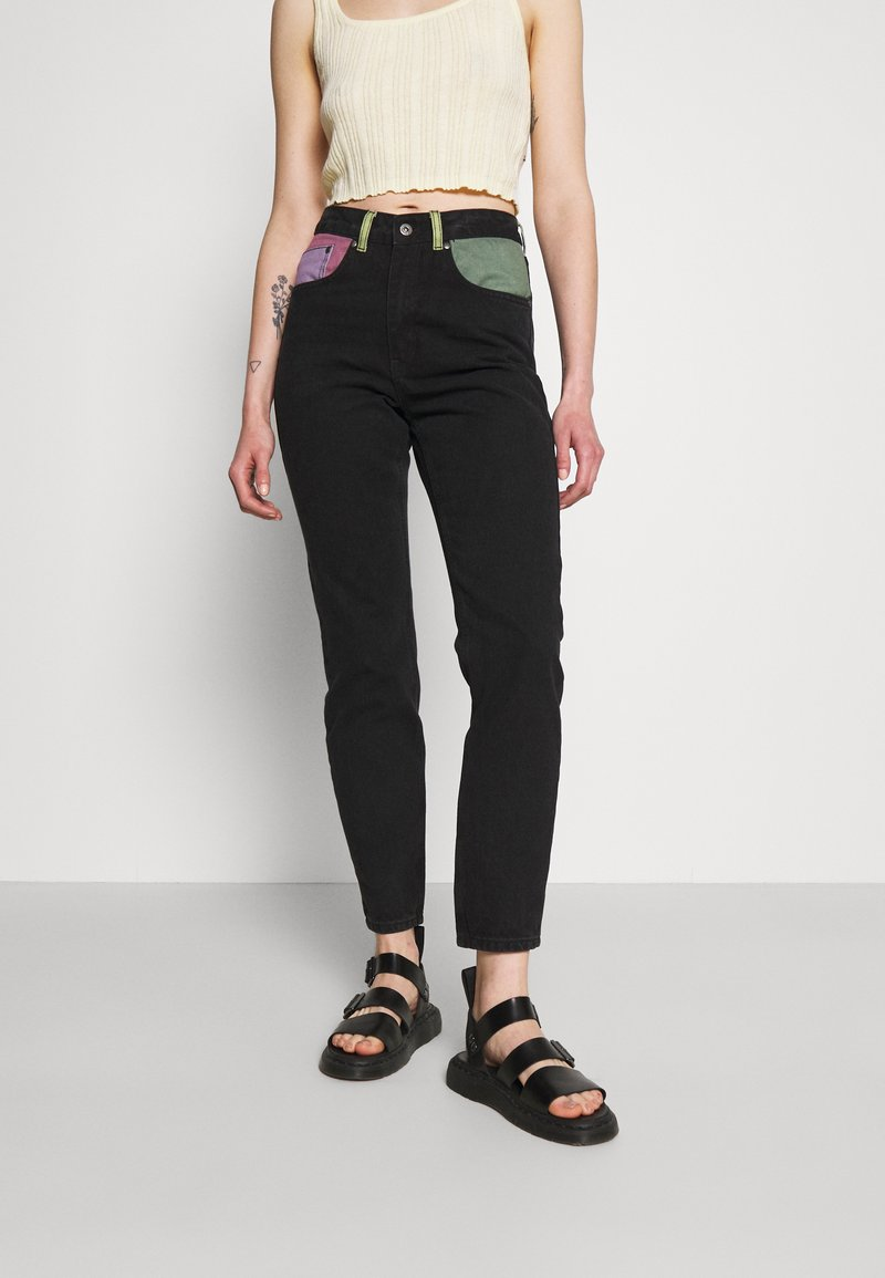 The Ragged Priest - ILLUMINATE - Straight leg jeans - charcoal/mixed colours