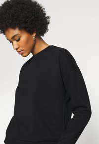 Vero Moda - VMELLA BASIC  - Sweatshirt - black - 4