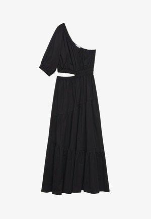 MIT SCHLITZ - Sukienka letnia - schwarz
