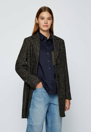 Short coat - dark brown