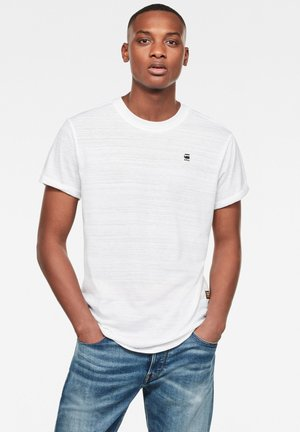 LASH ROUND SHORT SLEEVE - T-Shirt basic - white