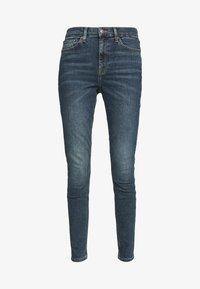 Topshop - DIRTY JAMIE - Jeans Skinny Fit - dirty blue - 4