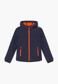 CMP - GIRL FIX HOOD - Softshellová bunda - blue/orange - 0