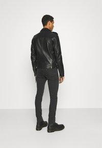 Tigha - BONE - Leather jacket - black - 2