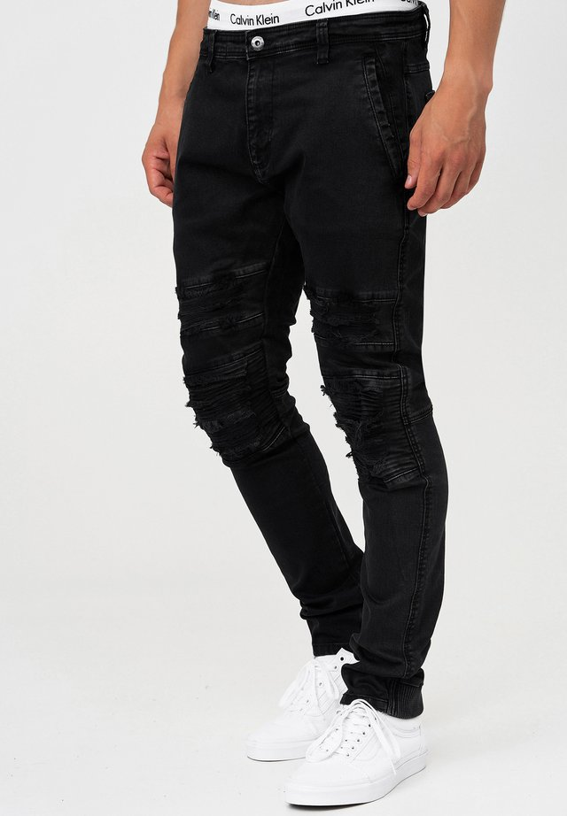 ROTH - Slim fit jeans - black