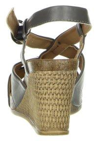 Inblu - Wedge sandals - anthrazit - 3