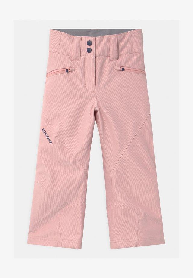 ALIN UNISEX - Snow pants - sugar rose