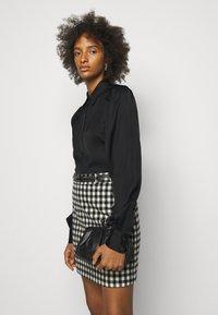 DESIGNERS REMIX - EMME SLEEVE - Button-down blouse - black - 3