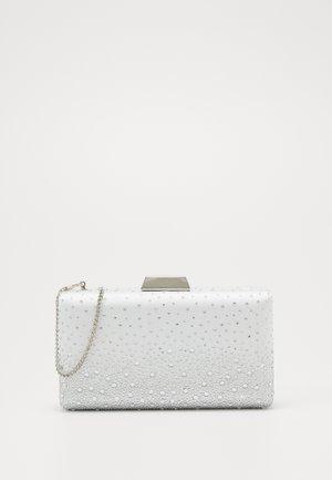 RYLIE GRADIENT HEATFIX - Pochette - ivory/silver