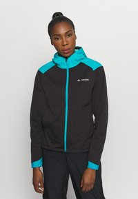 Vaude - WOMENS QIMSA JACKET - Soft shell jacket - black - 0