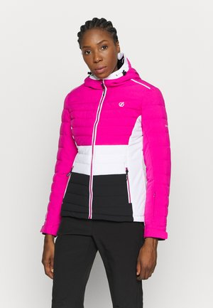 SUCCEED JACKET - Kurtka narciarska - active pink/black