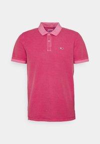Tommy Jeans - GARMENT DYE - Polotričko - pink - 0