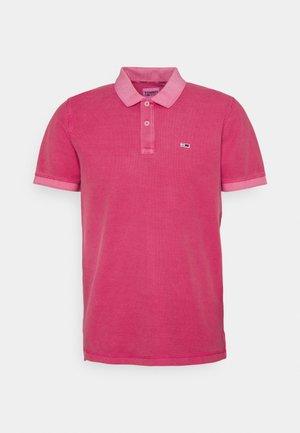 GARMENT DYE - Polo - pink