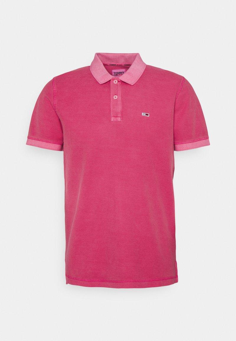 Tommy Jeans - GARMENT DYE - Polotričko - pink