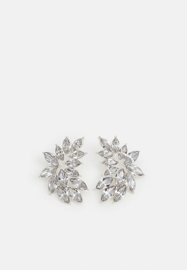 PCPUTRI EARRINGS - Kolczyki - silver-coloured/clear