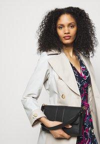 Lauren Ralph Lauren - PRINTED MATTE DRESS - Jersey dress - navy/aruba pin - 3