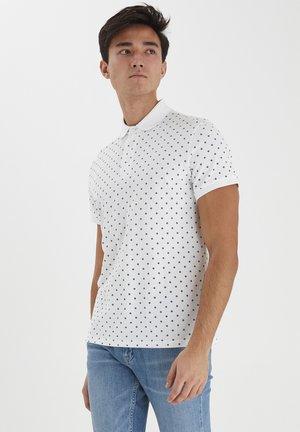 TRISTAN FLOWER PRINTED - Polo shirt - bright white