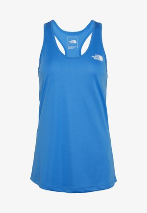WOMENS FLEX TANK - Sportshirt - clear lake blue