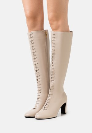 THEYAH - Lace-up boots - natural