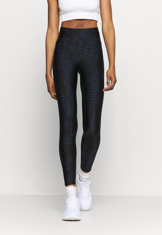 ICONIC PRINTED - Legging - survive dark blue metallic