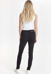 PULZ - CARMEN - Jeans Skinny Fit - black - 3