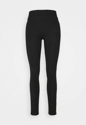 BLACK PONTE PULL ON - Leggings - black