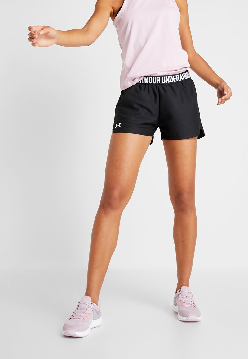 Under Armour - PLAY UP 2.0 - Urheilushortsit - black/white