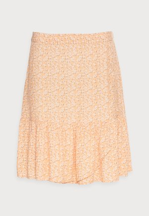 Mini skirt - orange red