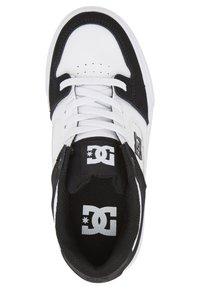 DC Shoes - PURE ELASTIC - Obuwie deskorolkowe - white black basic - 1