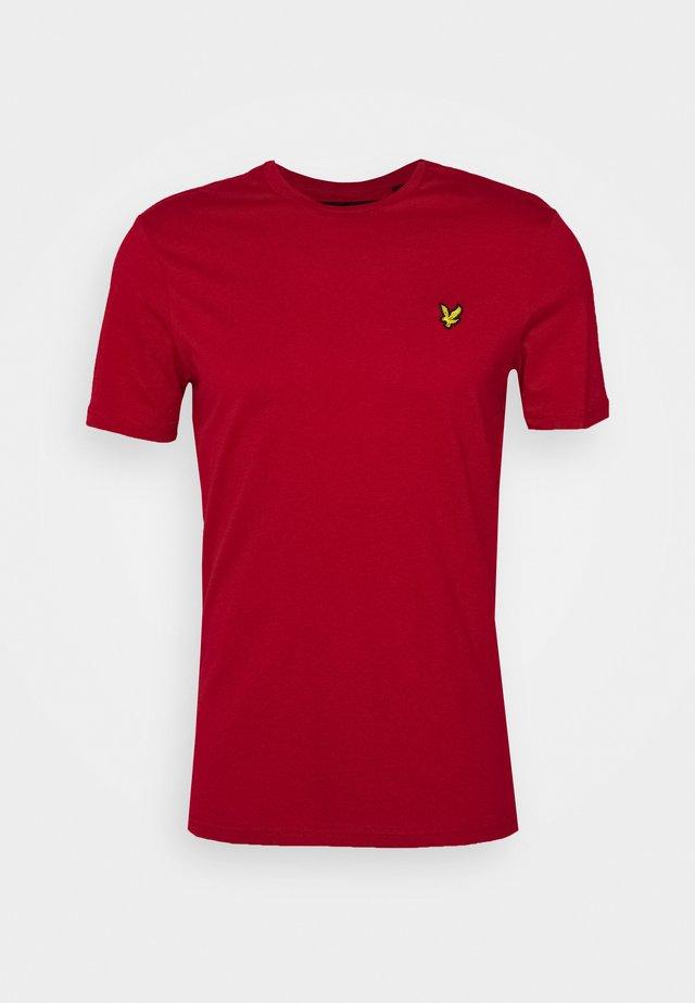 T-shirt basic - chilli pepper red