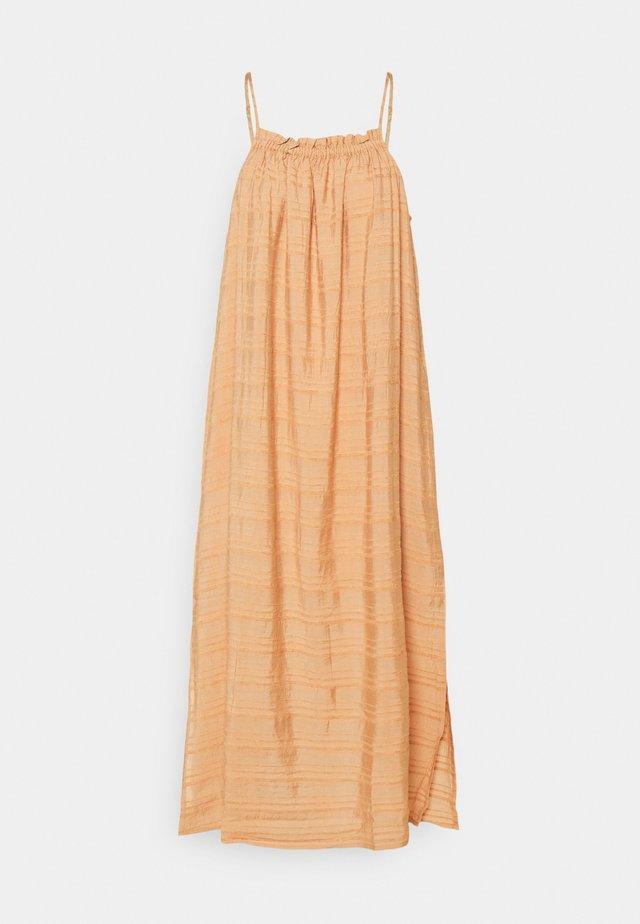 OBJRAFIA DRESS - Korte jurk - shrimp