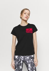 ASICS - FUTURE TOKYO TEE - T-shirt con stampa - performance black - 0
