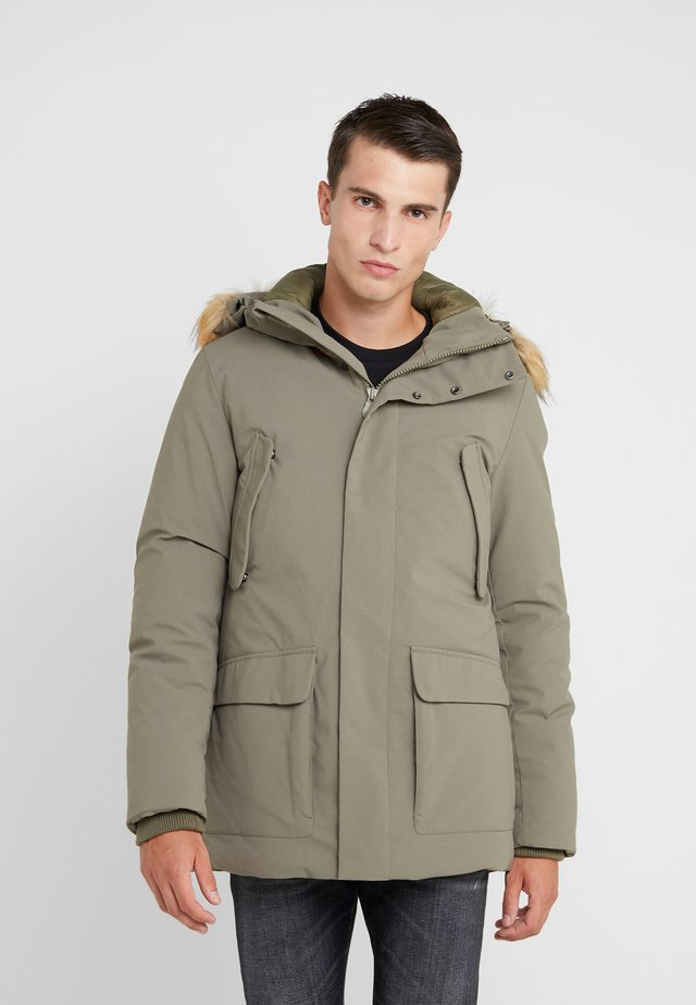SMEG - Winter coat - dusty olive