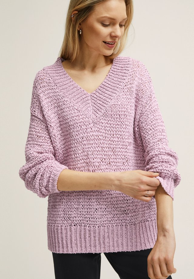 Pullover - dawn pink