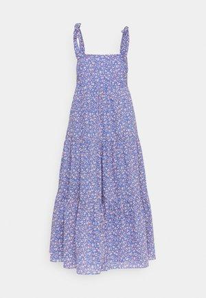 TIE STRAP - Denní šaty - summer vines blue