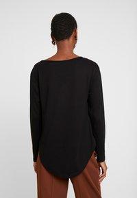 Anna Field - BASIC - Langærmede T-shirts - black - 2