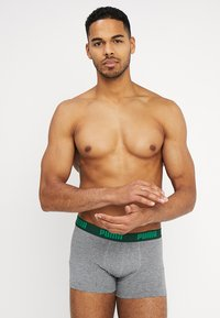 Puma - STRIPE BOXER 2 PACK - Panties - green - 2