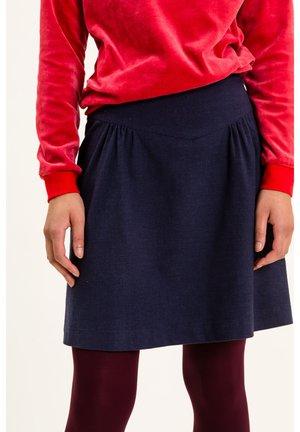 LOONAINA - A-line skirt - dunkelblau